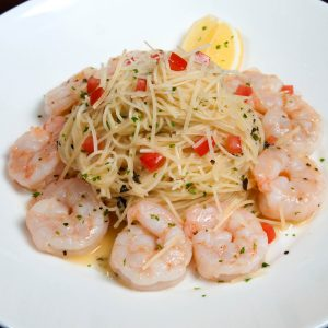 Cook Along with Chef Shrimp Scampi